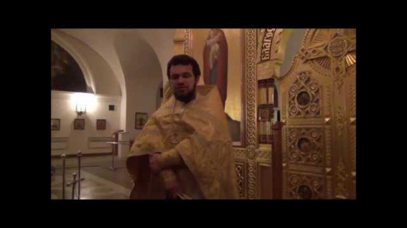 Божественная литургия с пояснениями. 2 января 2014 года