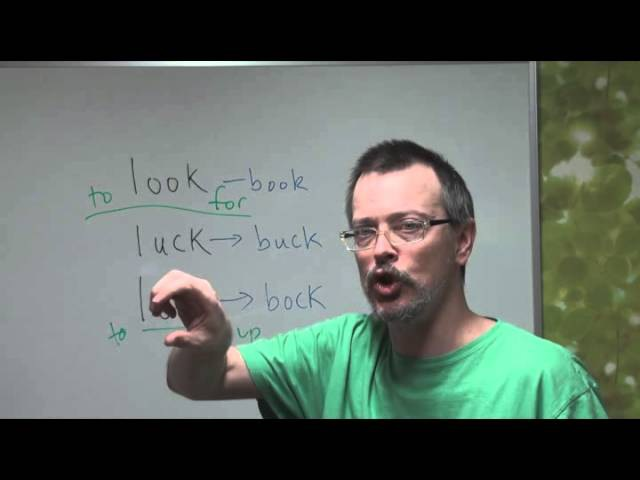 Learn English: Daily Easy English Expression 0037 -- 3 Minute English Lesson: LUCK, LOCK and LOOK