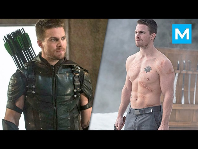 Stephen Amell Training for Arrow   Muscle Madness