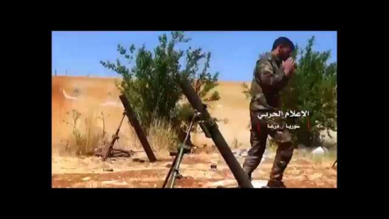 Watch how the Syrian army and its allies resisted the victory attack on its positions in the Manshiyya district of Badra