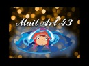 Mail Art 43 письмо Рыбка Поньо | Ponyo letter