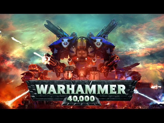 All Warhammer 40,000 Game Series Trailers Since 1998 - 2017