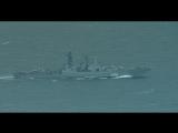 Российская авианосная ударная группа проходит Ла-Манш.