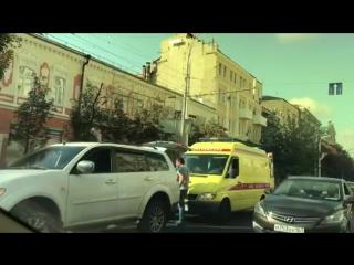 БольшаяСадовая/Чехова. Сбили человека - 09.06.17 - Это Ростов-на-Дону!