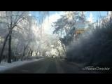 Ставрополь 10 февраля 2017 года раннее утро! Зима красивая...