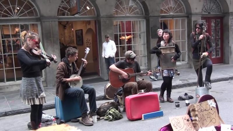 Уличные музыканты / Street Musican   Yes Ma'am