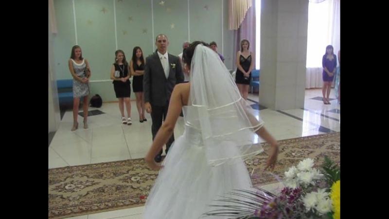 ТанецТанец Свадьба wedding косолапые homevideo 5лет