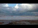 3.12.16 шторм на пляже Любимовка