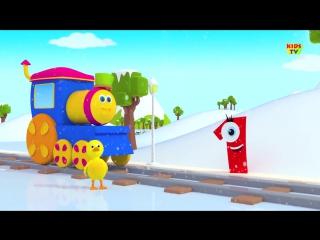 Bob The Train - Alphabet Adventure - abc Song - abcd song
