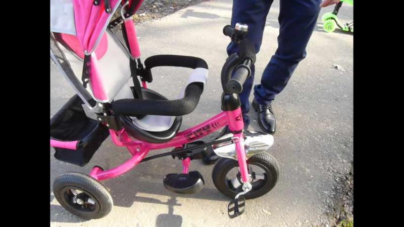 обзор трех колесного велосипеда cyty с надувными колесами SMARTSHOP40RUS.RU