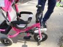 обзор трех колесного велосипеда cyty с надувными колесами