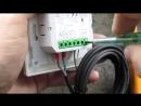 Неисправный датчик терморегулятора DEVIreg Touch