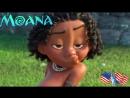 Моана Дисней Смешной отрывок из мультфильма Moana Disney США Воздушный поцелуй маленького индейца