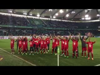 Исландский клич от чемпионов Германии