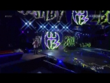 WWE Monday Night RAW 10.04.2017 - The Hardy Boyz, Cesaro  Sheamus vs. Luke Gallows, Karl Anderson  The Shining Stars