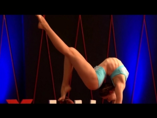 Twists and turns of a contortionist Lucia Carbines