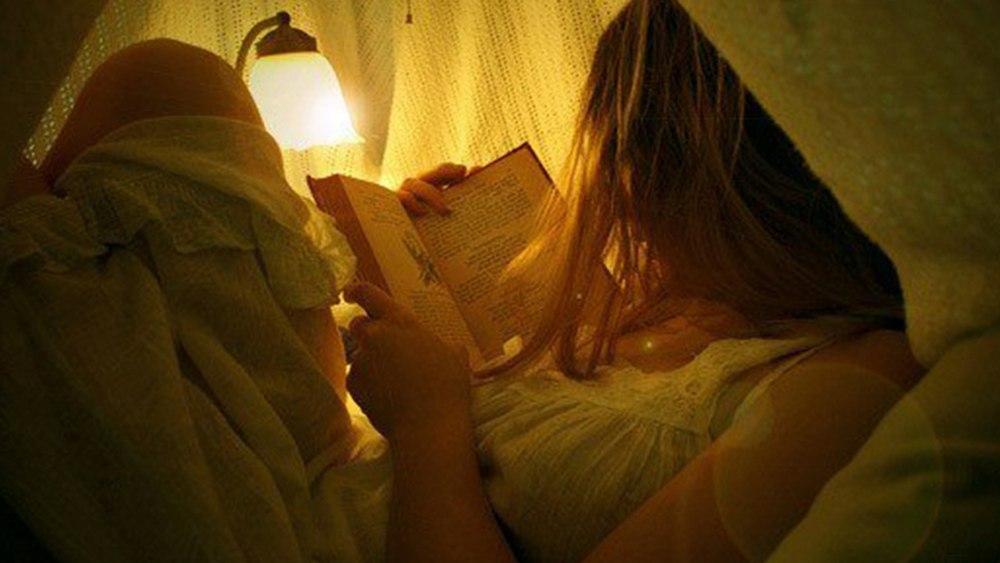 Читаете ли вы по вечерам?