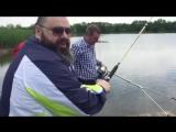 Максим Фадеев на рыбалке