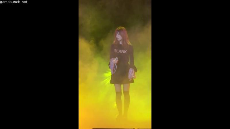 [취재영상] 엔씨소프트, 아주 특별한 만남, N-POP 레드벨벳(Red Velvet) 그대는 그렇게(슬기) 공연