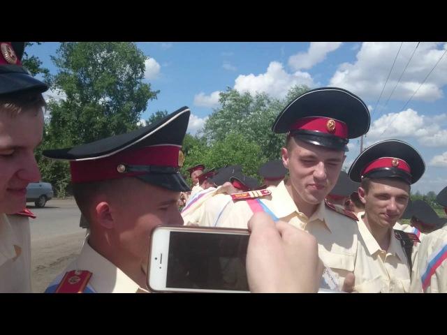 Выпуск 5 роты Омского кадетского военного корпуса 2016 год. Обмываем крабы...