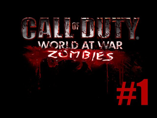 Call of Duty 5: World at War - Zombies - 1 - Co-op -