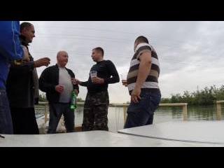 Сплав на плоту по реке Кубань 9 мая 2014