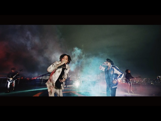 Crystal Lake - Black And Blue feat. JESSE (RIZE/The BONEZ) 【Music VIdeo】