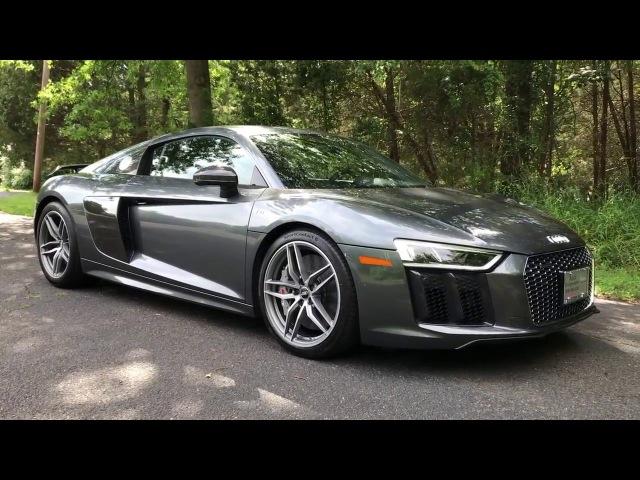 Вот почему 2017 Audi R8 V10 Plus Стоит $200,000! Даг ДеМуро