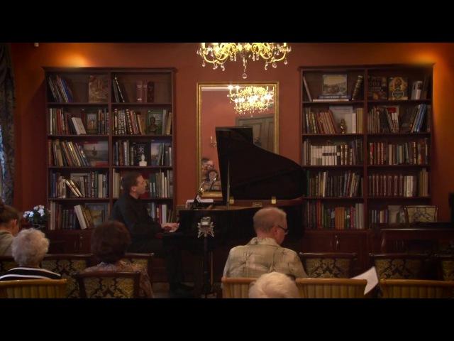 Концерт фортепианной музыки «По заросшим тропинкам пианизма». Исполнитель - Игорь Попов