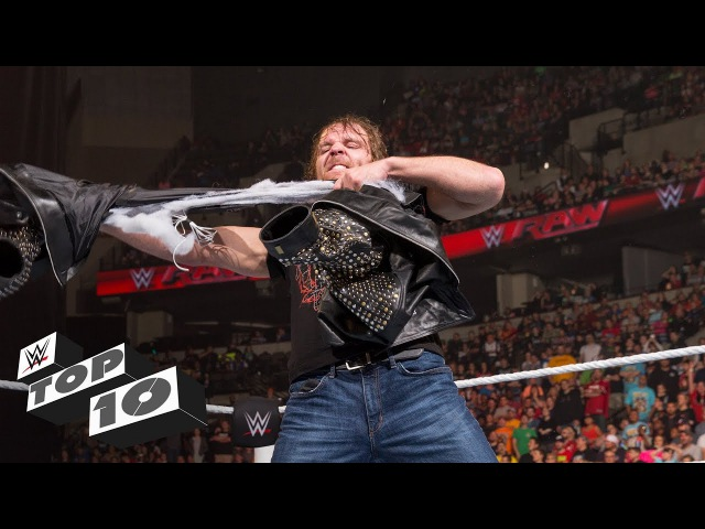 Clothing casualties in Superstar fights - WWE Top 10, Sept. 18, 2017