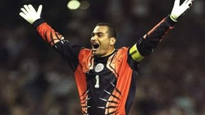 José Luis Chilavert, El Bulldog [Best Saves Goals]