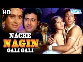 Nache Nagin Gali Gali (HD) - Meenakshi Seshadri - Nitish Bharadwaj - Old Hindi Full Movie