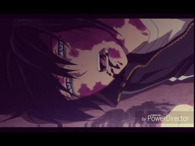 Грустный аниме клип / ангелы залиты лужами крови