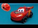 The Cars italiano Motori ruggenti Giocattolo Saetta McQueen Transformer McQueen da un uovo