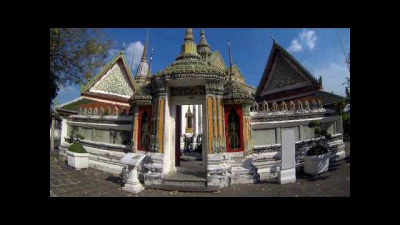 Wat Pho, или храм лежащего Будды в Бангкоке, Таиланд
