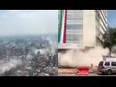 Mexico-Puebla City - Powerful Earthquake- 19-Sept-2017