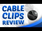 Cable clips - Cord Management Solution - Wire Organizer System - Blue Key World