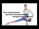 Бубновский С М Три упражнения для восстановления мышечного баланса Кинезитерапия Бубновского