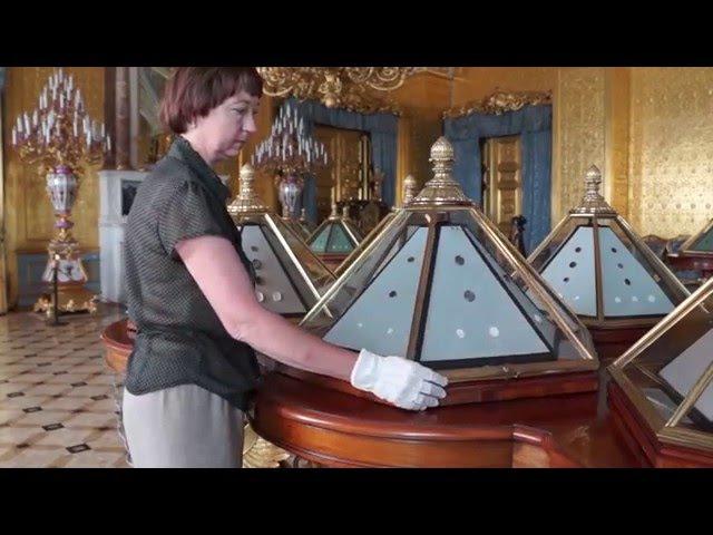 Витрины Императорского Эрмитажа. Рассказывает хранитель мебели Татьяна Семенова