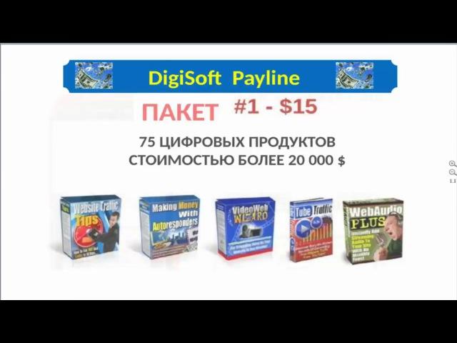 DigiSoft Payline как заработать ВСЕ ПОДРОБНО ЗА 5 минут