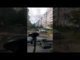 Разбитая дорога на Липовой горе, ул. 1я тормозная (Ярославль)