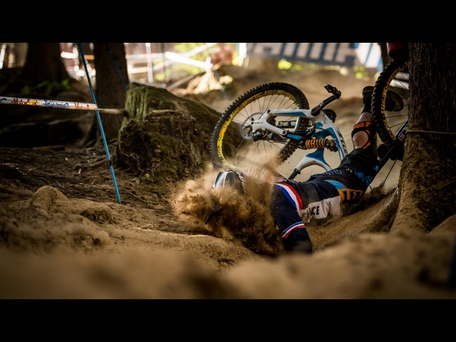 2016 UCI Val Di Sole - Crashes