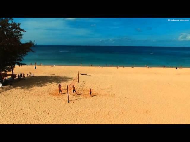 Пляж Карон Аэросъемка Пхукет Karon Beach Drone Video Phuket