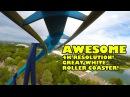 Great White Roller Coaster 4K Ultra HD Front Seat POV SeaWorld San Antonio Texas