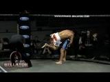 Bellator MMA Highlight- Toby Imada vs Jorge Masvidal - Reverse Triangle Choke!