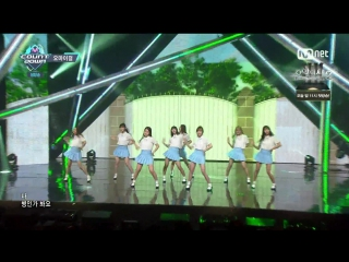 160505 m!countdown| oh my girl - one step two step
