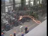 Авария на заводе по производству световых мечей