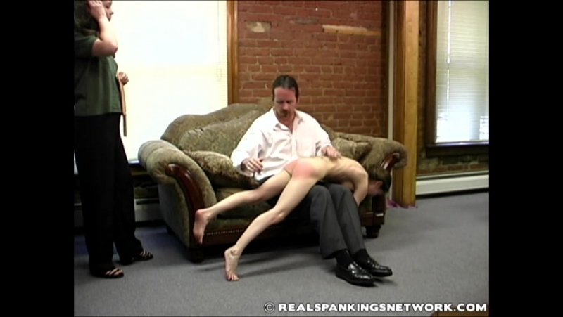Misty Punished in the Dean's Office - otk-spankings