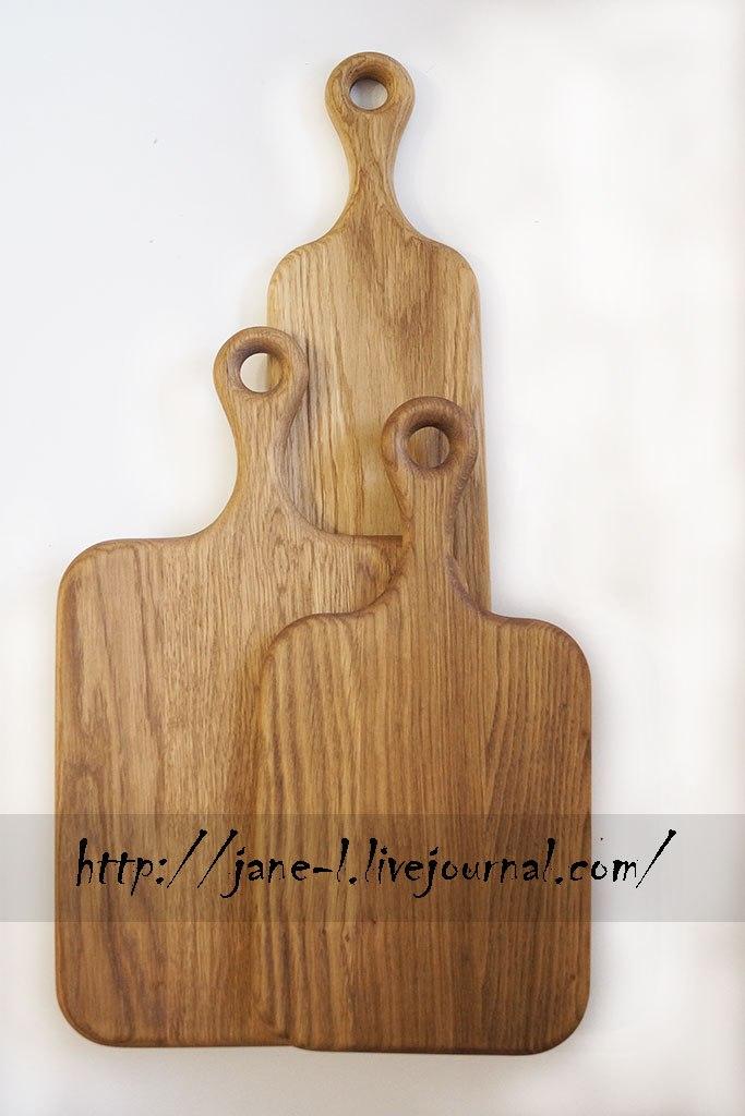 Деревянные доски их массива Дуба