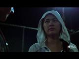 Железный Кулак. Отрывок из сериала, битва в клетке. Marvels Iron Fist _ Colleen Wing Sneak Peek _ Netflix
